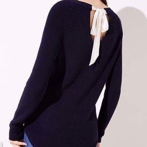 Loft Bow Back Sweater